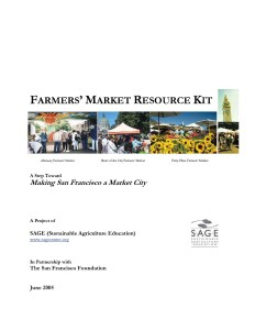 Farmers Market Resource Kit Cover