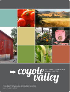 Sustaining Agriculture and Conservation in Coyote Valley Cover